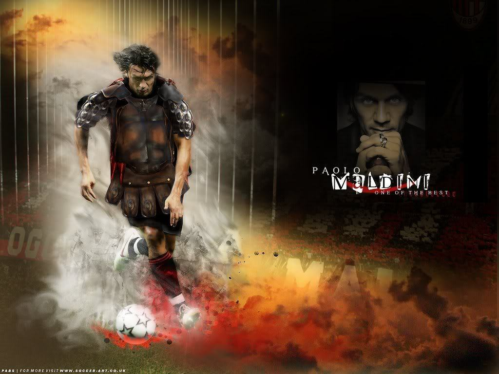 Paolo Maldini images AC Milan PM HD wallpaper and background