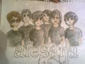 Alesana Guys  drawing - alesana fan art