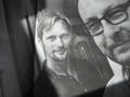 Alexander Skarsgard and Lars von Trier