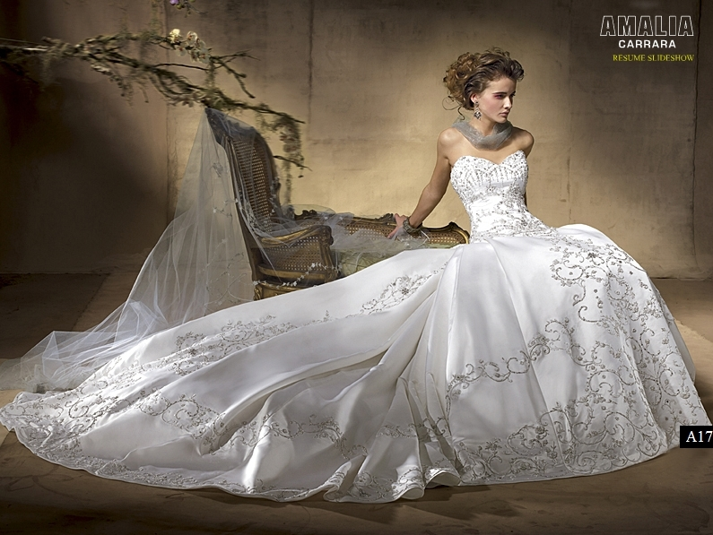 Cathedral Train Wedding Dress