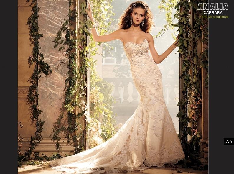 Pink Champagne Wedding Dresses