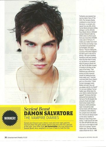 And..Damon is sexier than Edward