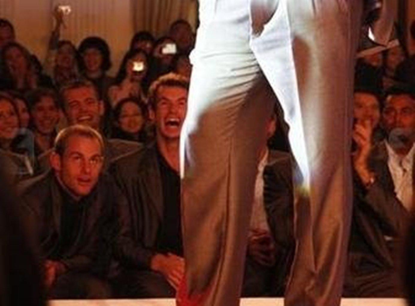 Andy Murray fashion parade