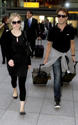 Anna & Stephen @ Heathrow Airport
