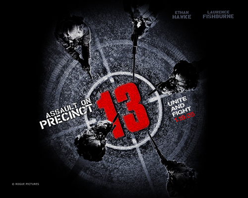 Action Films fondo de pantalla containing a sign titled Assault on Precinct 13 (2005)