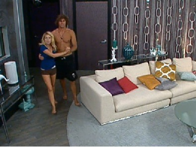 Big Brother wallpaper with a living room, a family room, and a den titled BB12