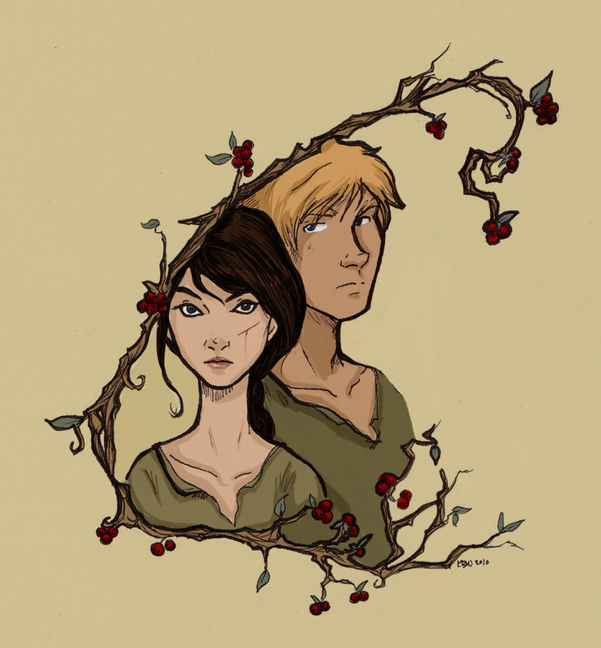 Hunger Games Fan Art Katniss And Peeta ALWAYS IN OUR OWN WORL...
