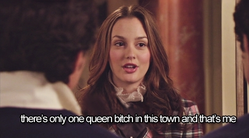 Blair Waldorf kertas dinding containing a portrait entitled Bitchy Blair come back!
