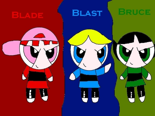 Blade,Blast,and Bruce