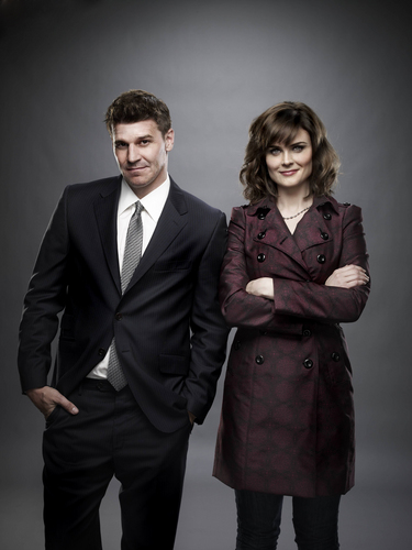 Emily Deschanel wallpaper containing a business suit and a suit entitled Bones: New Cast Promotional Photo [Season 6]
