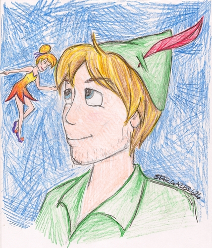 Brent (Peter Pan) and From Screen to Theme (Tinkerbell)