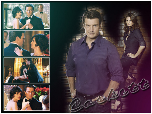 Castle wallpaper probably with a business suit and a well dressed person entitled Caskett