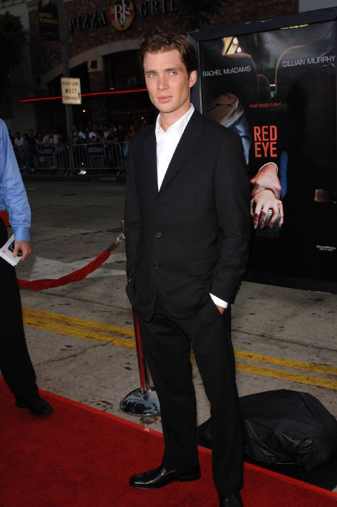 Cillian at the Red Eye Premiere