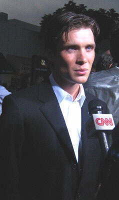 Red Eye 壁紙 with a business suit entitled Cillian at the Red Eye Premiere