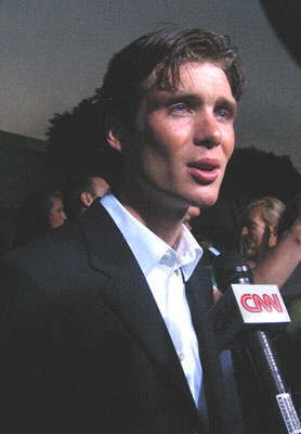 Red Eye wallpaper with a business suit, a suit, and a dress suit entitled Cillian at the Red Eye Premiere