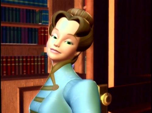 Clara's green-eyed Aunt Elisabeth