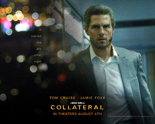 Action Films fondo de pantalla with a business suit entitled Collateral
