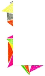 Colorful ত্রিভুজ Border! Use & Credit: soeul_mates