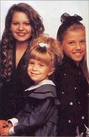 DJ, Steph and Michelle Tanner