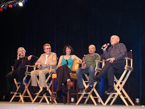 estrella Trek: Deep el espacio Nine fondo de pantalla called DS9 Cast at Vegas Trek Con 10