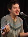 David Archuleta with Hershey kisses :)