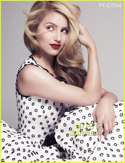dianna agron mark salling photoshoot. Dianna Agron:Vanity Fair Photo