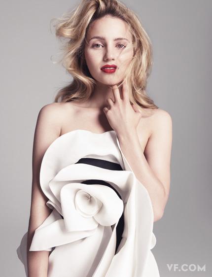 justin bieber vanity fair cover shoot. Dianna Agron Vanity Fair Shoot