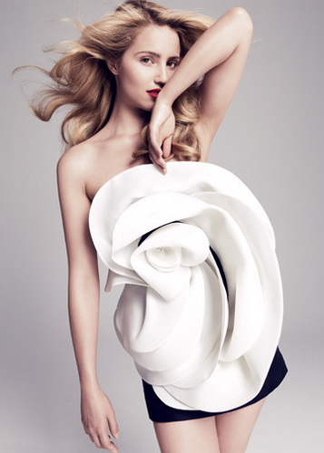 Dianna Agron Vanity Fair Shoot