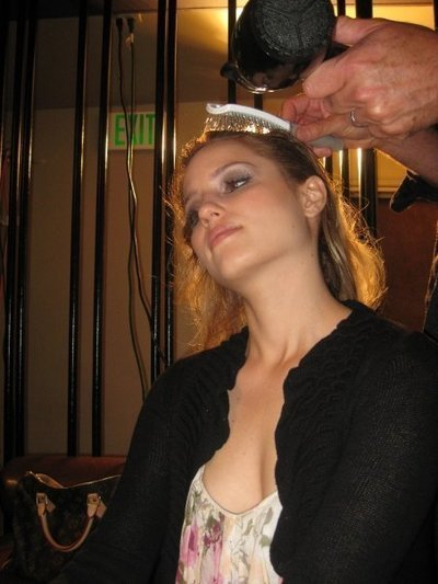 dianna agron hair down. dianna agron hair up. style
