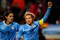Diego Forlan WM 2010 Uruguay - Netherlands
