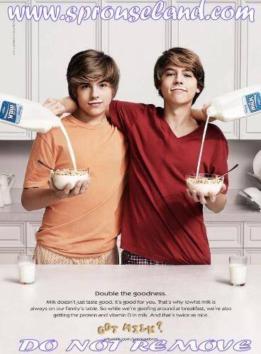 Dylan and Cole Got Milk? Photoshoot!!