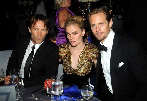 Emmy Awards 2010 - Alex, Anna and Stephen