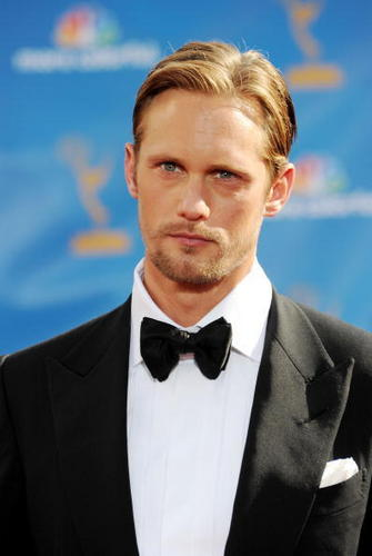 Alexander Skarsgård wallpaper probably containing a business suit called Emmy Awards 2010