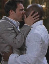 Eric McCormack and Taye Diggs