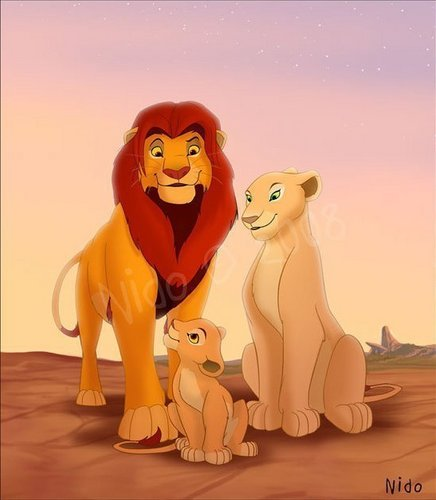 the lion king wallpaper titled Family