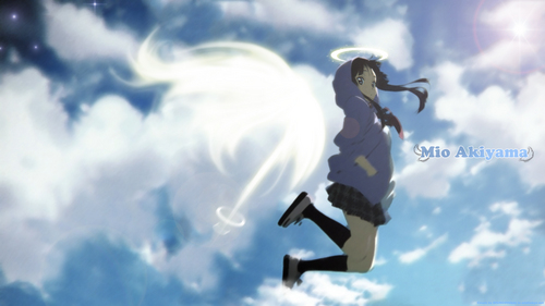 K-ON! 壁纸 titled Fly To The Sky