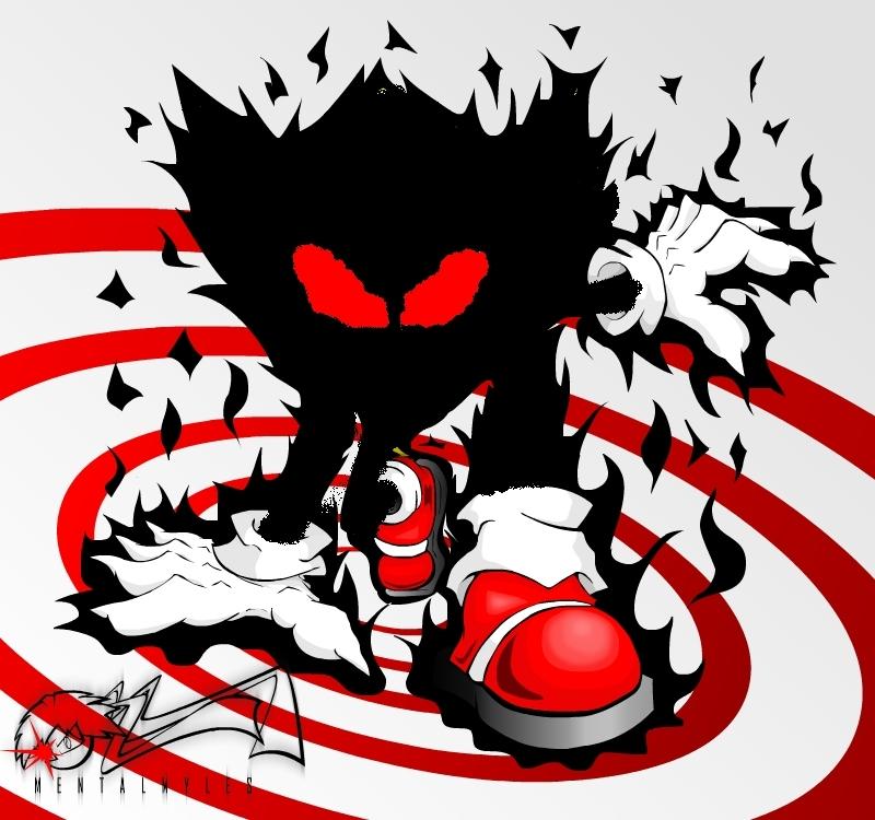 Fully Possesed Super Sonic Rocket The Hedgehog Fan Art 15137963 Fanpop