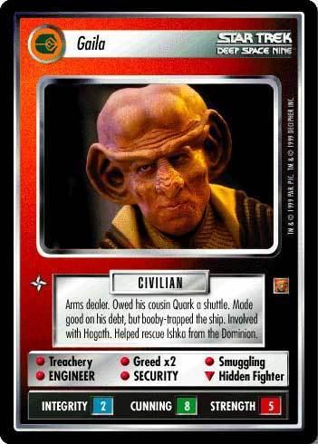 Gaila - Card Game