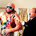 Gene Okerlund & Randy Savage - professional-wrestling icon