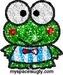 Glittery Cutie Keroppi - keroppi icon
