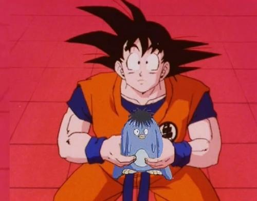 Goku and pou