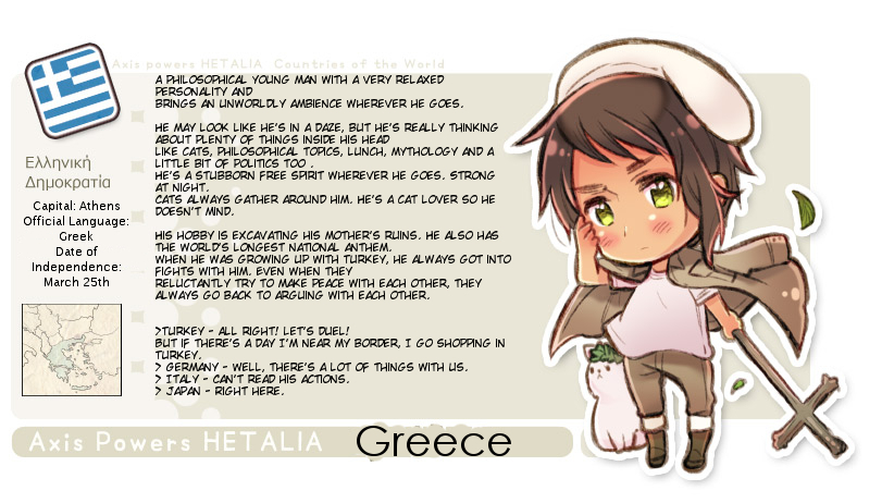 Greece's new profil