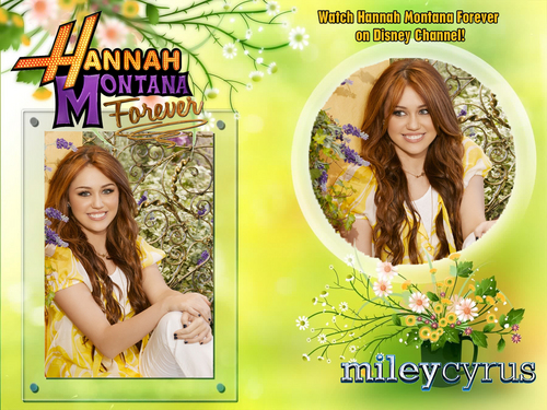 Hannah Montana season 4'ever EXCLUSIVE MILEY VERSION wallpapers as a part of 100 days of hannah!!!
