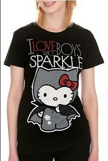 Hello Kitty vampire shirt
