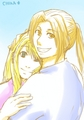Hugs - edward-elric-and-winry-rockbell fan art