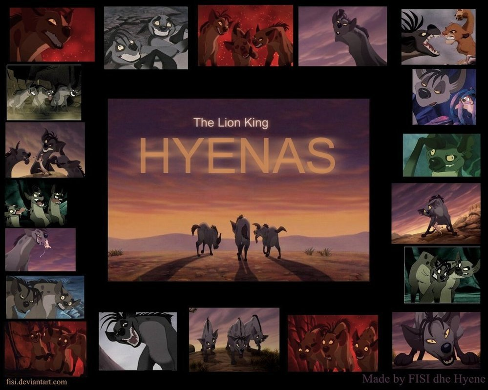 Hyenas wallpaper