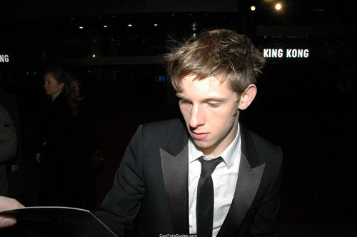 Jamie at the King Kong London Premiere