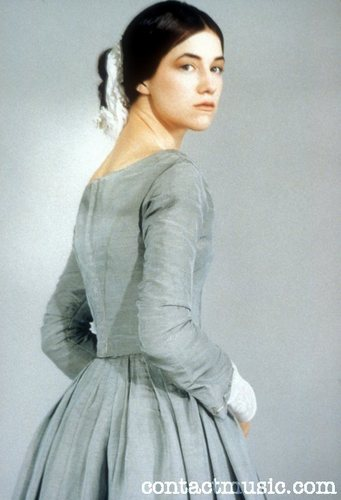 Jane Eyre 壁纸 probably with a 袍, 礼服 and a 晚餐 dress entitled Jane Eyre 1996