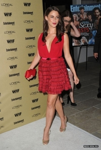 Jessica @ Entertainment Weekly and Women In Film Pre-Emmy Party