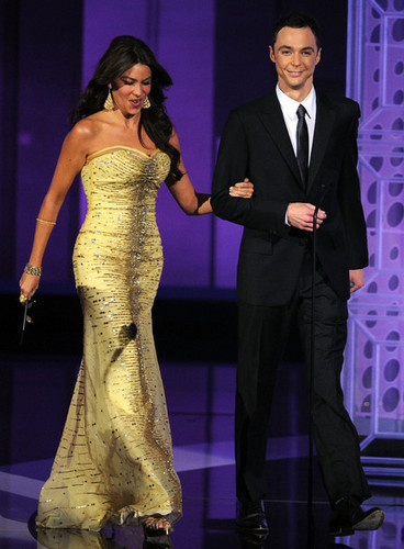 Jim Parsons Presenting An Award @ the 2010 Emmy Awards